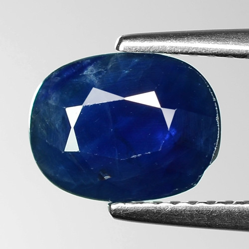 2.36 Cts Blue Sapphire Sparkling Intense SA10