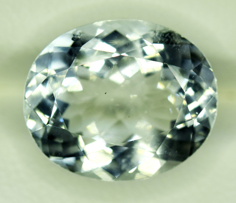 NR Auction 6.75 CT Natural Cushion Cut Aquamarine Gemstone