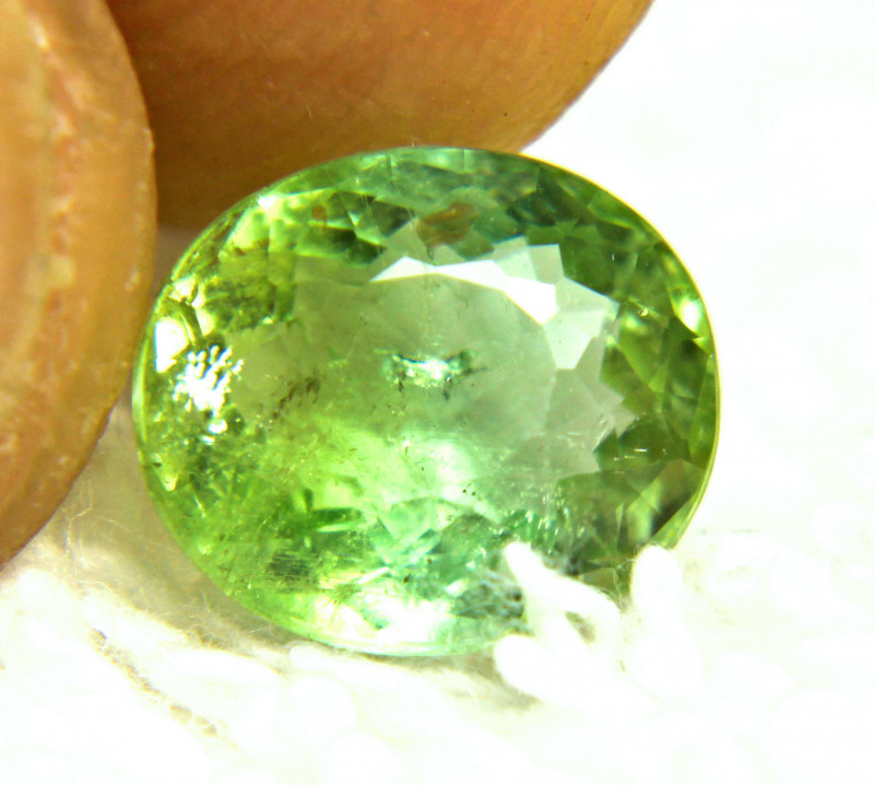 4.27 Carat African Green SI Tourmaline - Lovely