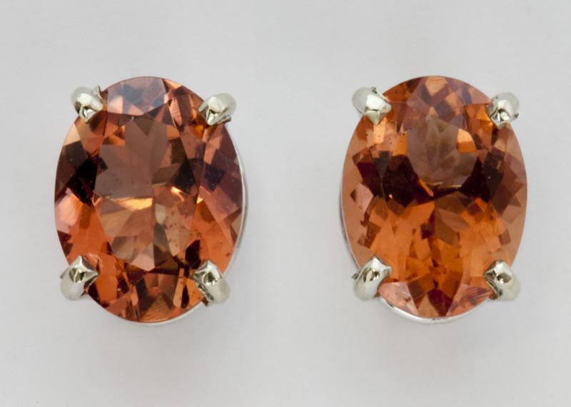 2.15 Red/Orange Oregon Sunstone Earrings (S1380E)