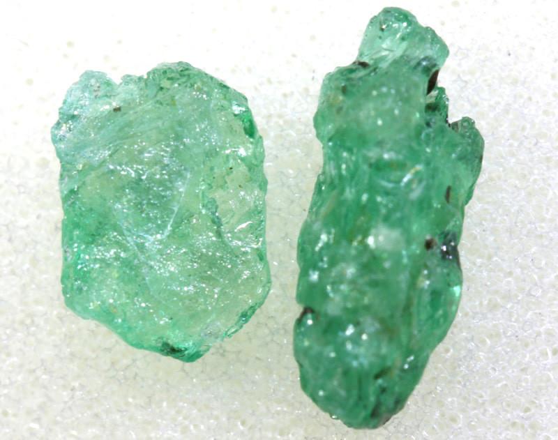 1.75 CTS Emerald Rough  RG-4799
