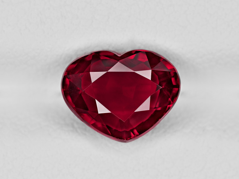 Ruby, 3.01ct - Mined in Mozambique | Certified by GRS