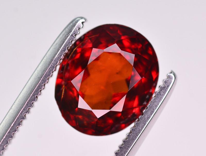 Reddish Orange Color 2.20 Ct Natural Spessartite Garnet A