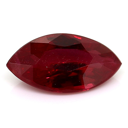 1.01 Carat Marquise Ruby: Rich Red