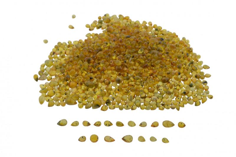 Yellow Sapphire 100 cts 160 st Briolette Wholesale Lot