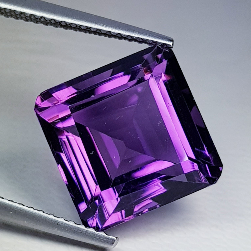 10.72 ct Top Quality Gem  Excellent Octagon Cut Natural Amethyst
