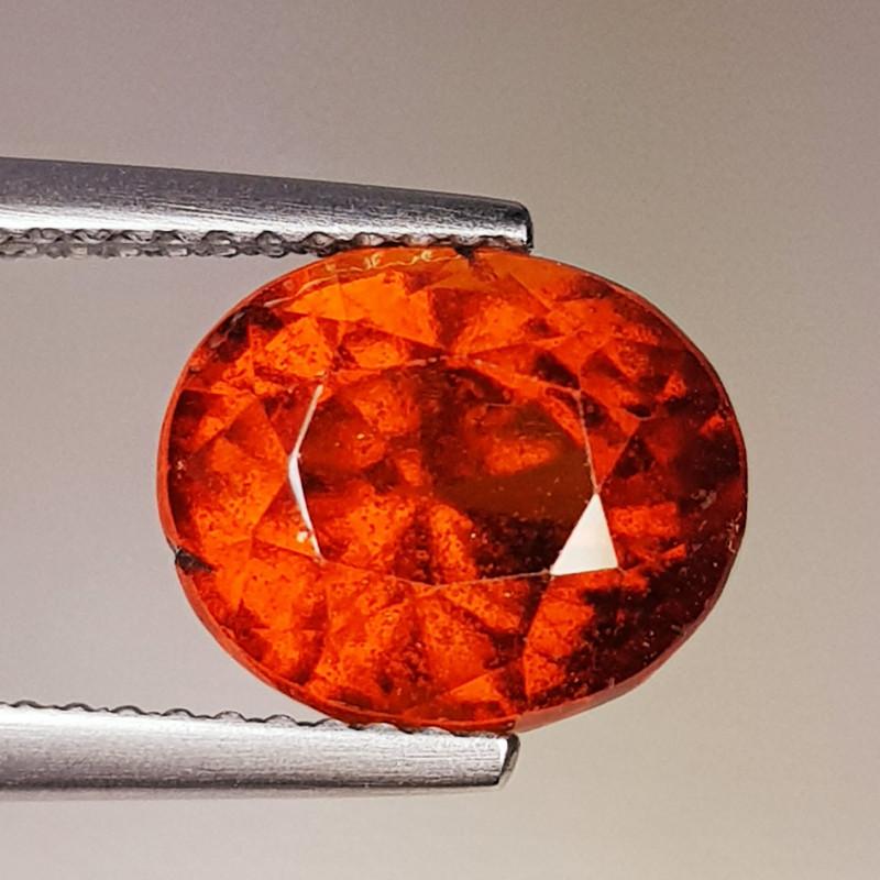 5.20 ct Top Quality Gem Oval Cut Top Luster Hessonite Garnet