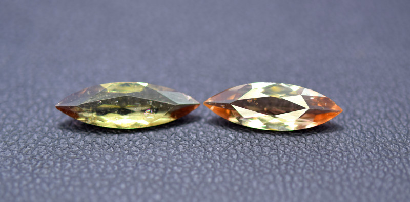 1.80 cts Rare Andalusite Gemstones Pair