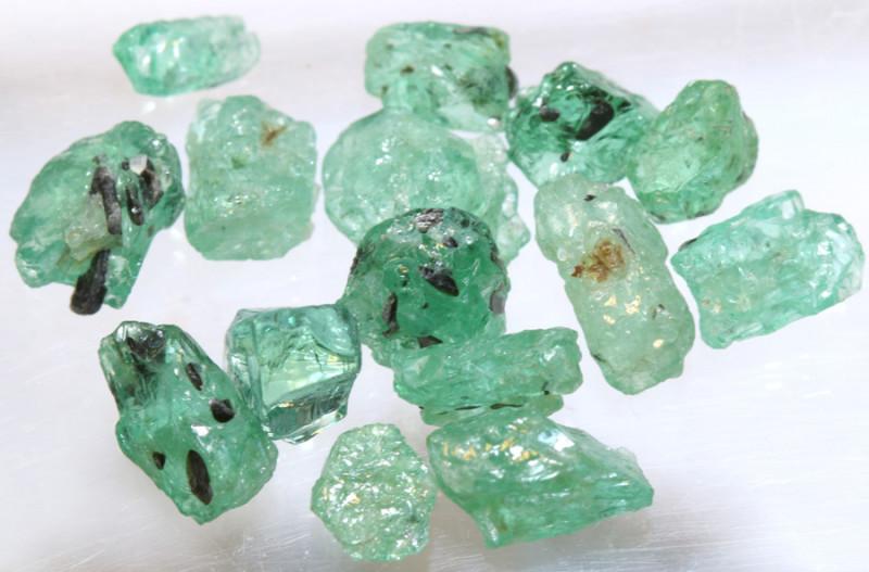 10.10- CTS Emerald Rough  Parcel RG-4807
