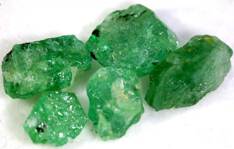 10.10- CTS Emerald Rough  Parcel RG-4824