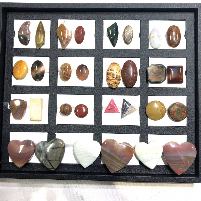 1,00 Cts Trade parcel 30 mixed Gemstones  BR 2340