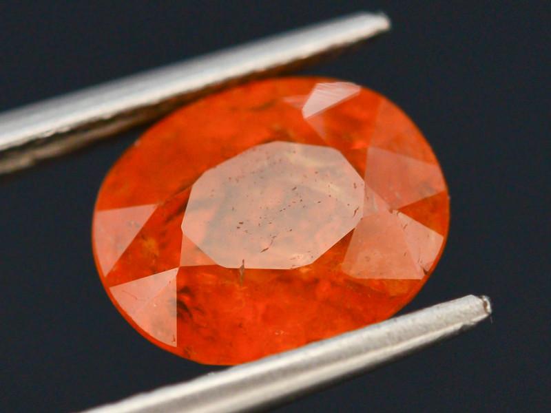 2.80 ct Natural Fanta Orange Color Spessartite Garnet AD