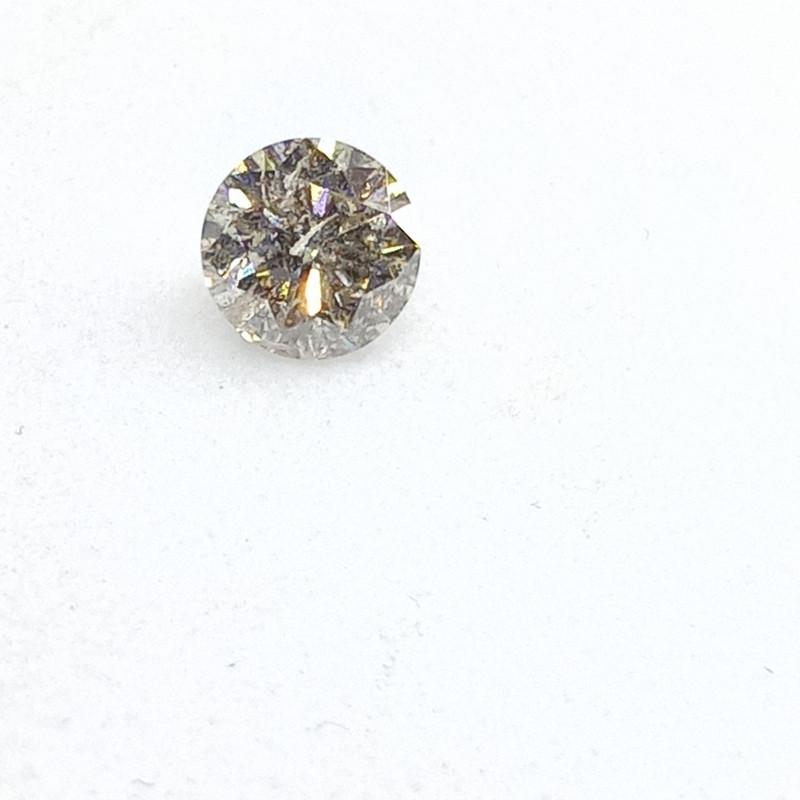 0.19ct White  Diamond , 100% Natural Untreate