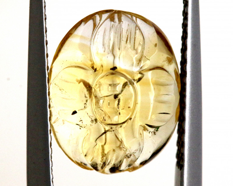 3.40- CTS CITRINE CARVED   BG-466