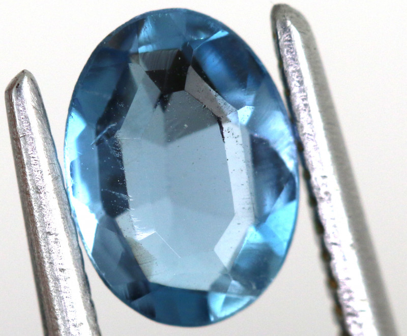 0.75-  CTS  NATURAL BLUE TOPAZ FACETED  BG-475
