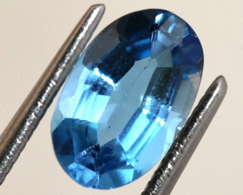 1.95-  CTS  NATURAL BLUE TOPAZ FACETED  BG-477