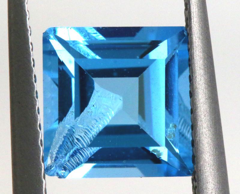 2.55-  CTS  NATURAL BLUE TOPAZ FACETED  BG-483