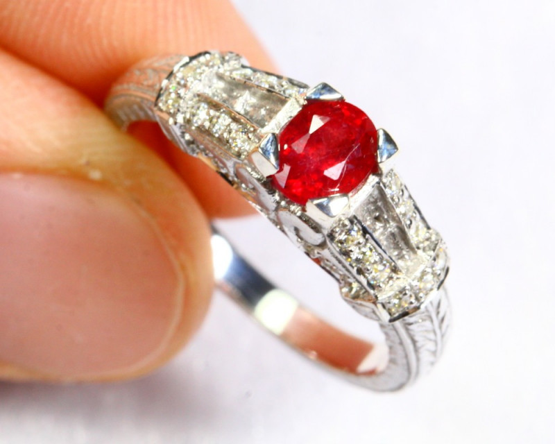 15.42cts Sterling Silver 925 Ring / N20