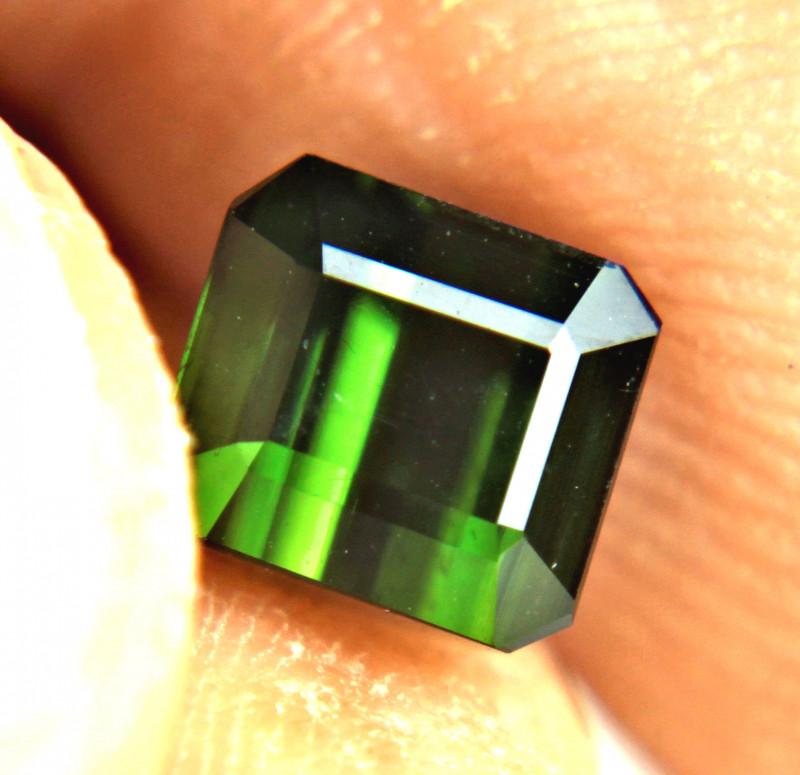 1.92 Carat Vibrant Green Nigerian Tourmaline - Gorgeous
