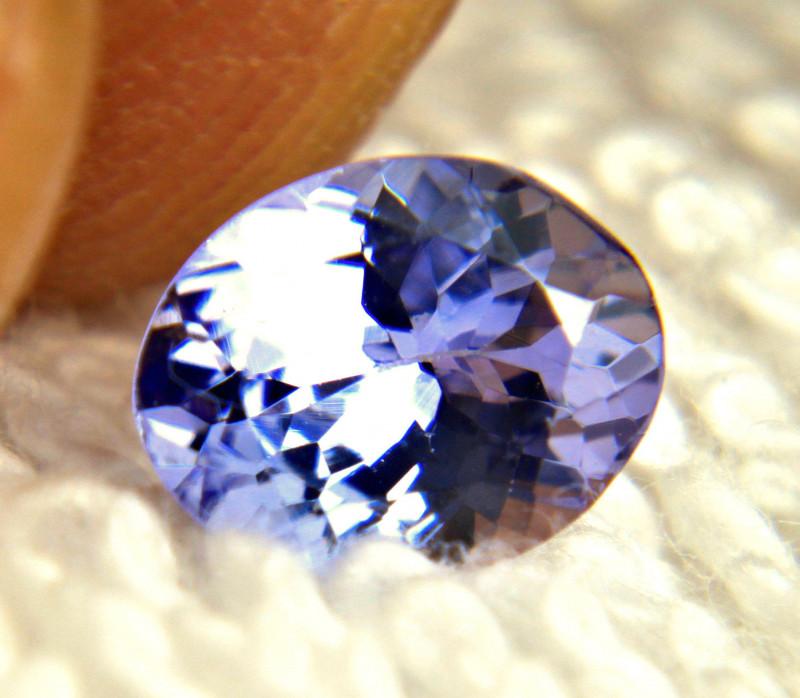1.46 Carat VVS African Purplish Blue Tanzanite - Gorgeous