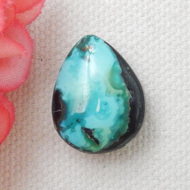 17.5ct Turquoise Cabochon,Lucky Turquoise Gemstone ,Healing Stone E481