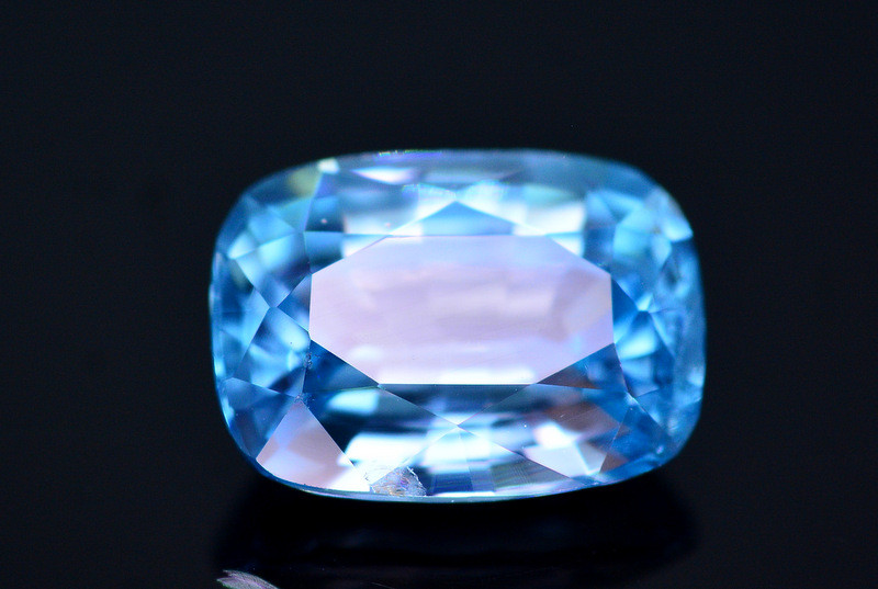 Vibrant Blue ~ 2.10 Ct Natural Zircon From Cambodia. RA2