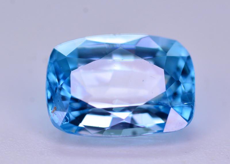 Vibrant Blue ~ 2.20 Ct Natural Zircon From Cambodia. RA2