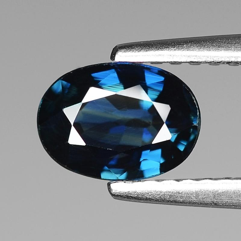 1.01 Cts Natural Blue Ceylon Sapphire Loose Gemstone