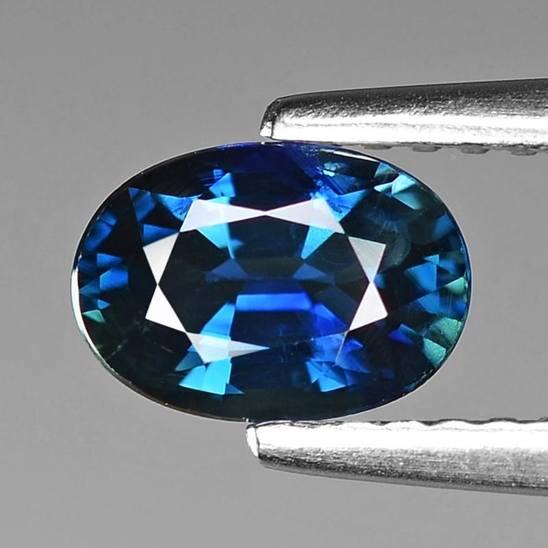 0.95 Cts Natural Blue Ceylon Sapphire Loose Gemstone
