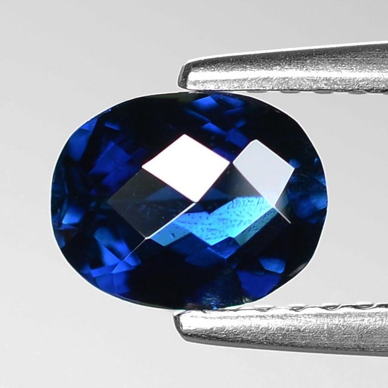 0.88  Cts Natural Blue Ceylon Sapphire Loose Gemstone