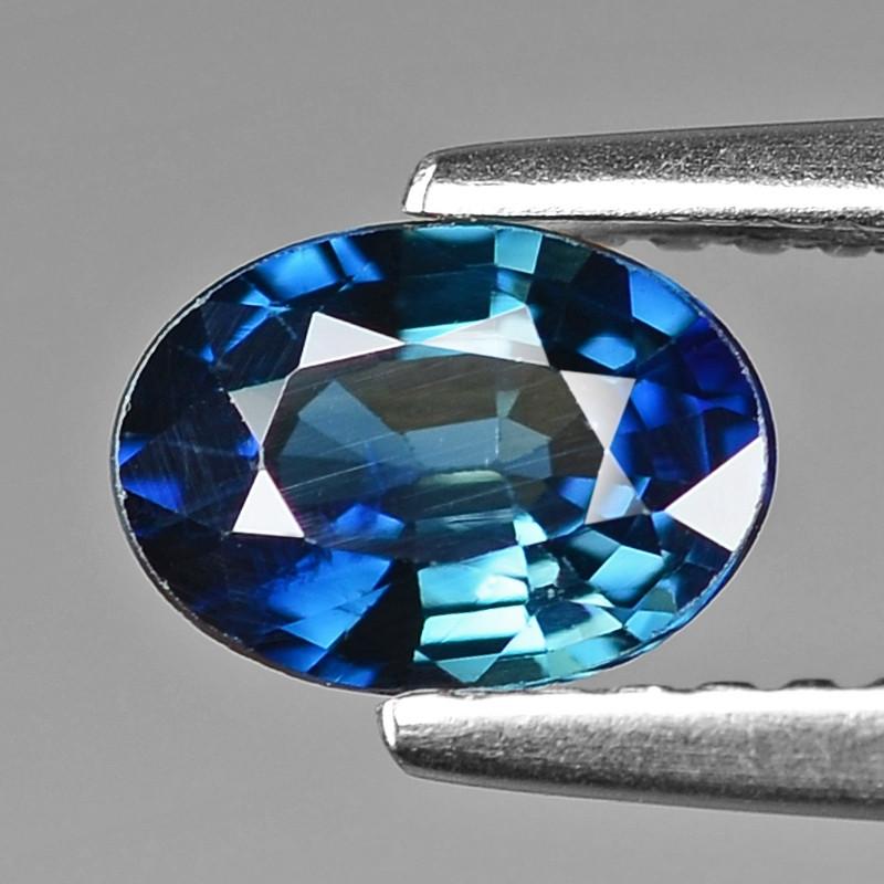0.85 Cts Natural Blue Ceylon Sapphire Loose Gemstone