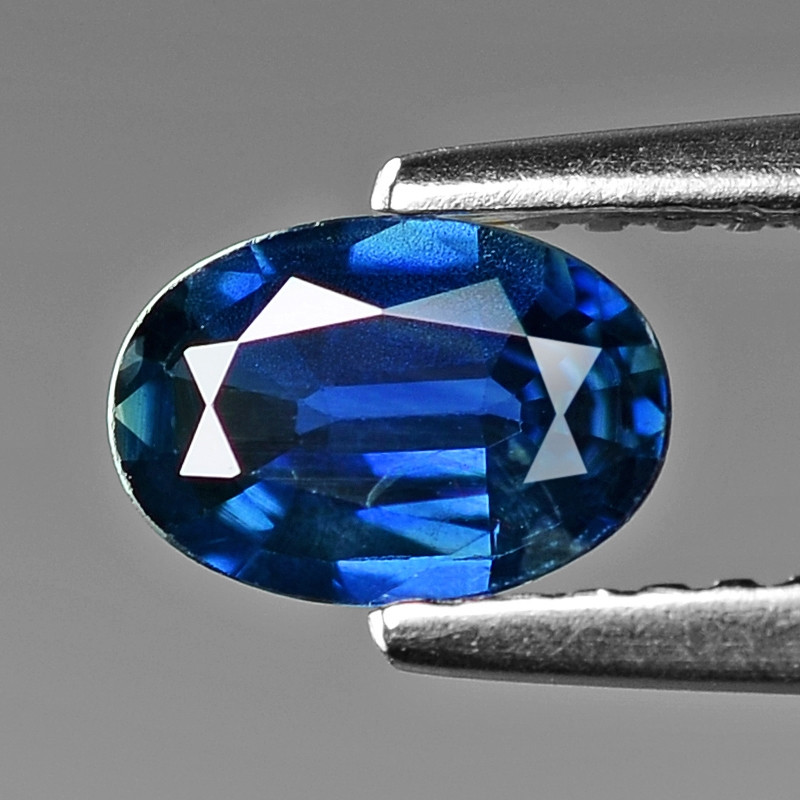 0.76  Cts Natural Blue Ceylon Sapphire Loose Gemstone
