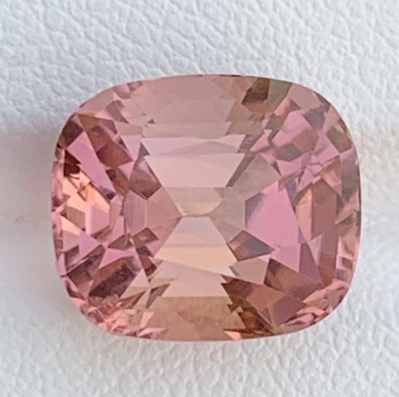 Asscher Cut 9.70 Carats Natural Color Tourmaline Gemstone From AFGHANISTAN