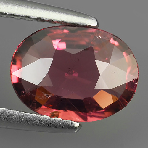1.40 CTS-ALLURING TOP COLOR PINK TOURMALINE OVAL CUT!!!