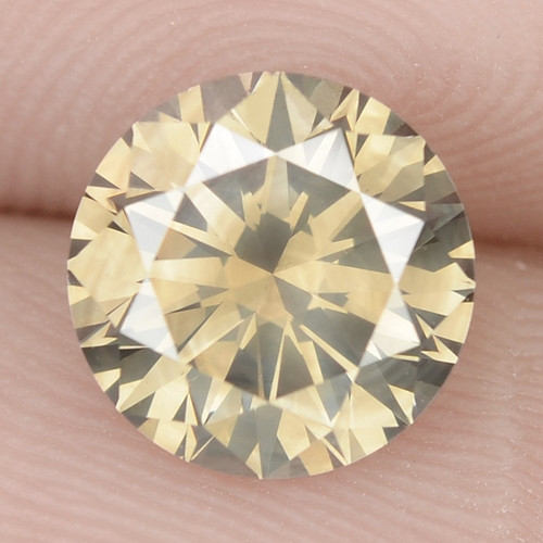 1.51 Cts Untreated Fancy Brownish Yellow Natural Loose Diamond-Si1