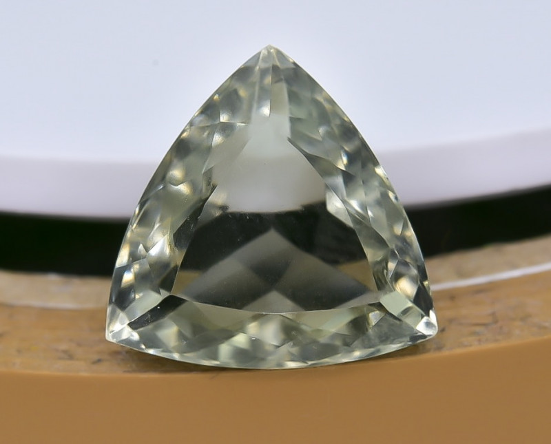 6.83 Crt Prasiolite Green Amethyst  Faceted Gemstone (R59)