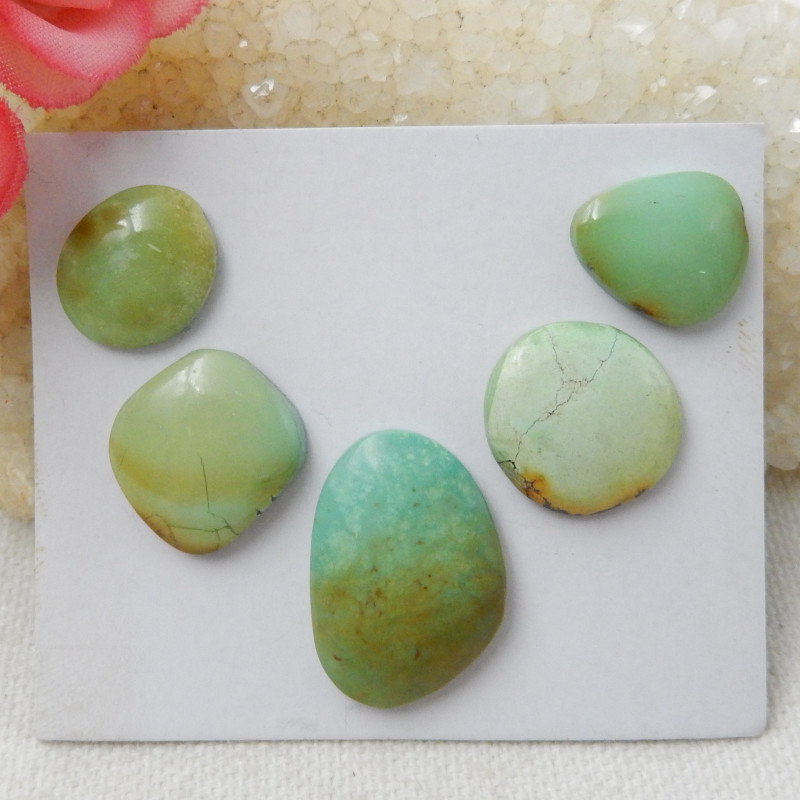 Lucky Turquoise ,Handmade Gemstone ,Turquoise Cabochons ,Lucky Stone E514