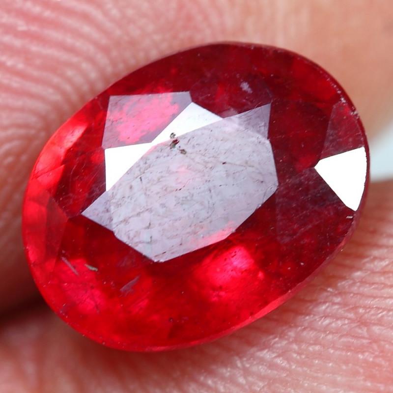 5.30cts Glisten Red Ruby Gemstone