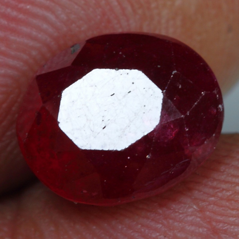 6.00cts Blood Red Ruby Gemstone