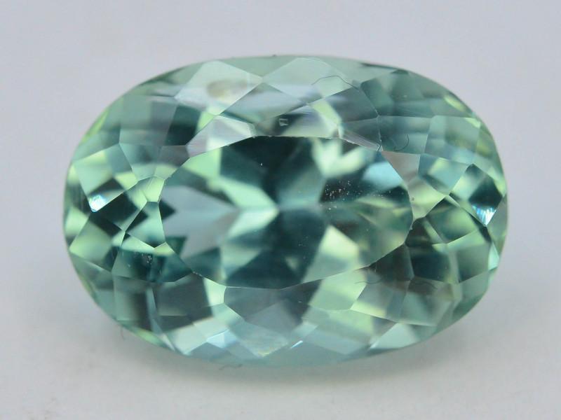 6.10 Ct Green Spodumene Gemstone From Afghanistan~ G AQ