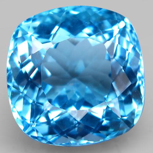 21.20 ct. Natural Swiss Blue Topaz Top Quality Gemstone Brazil