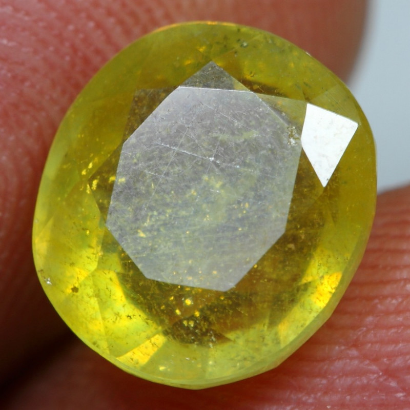 5.30cts Stunning Yellow Ruby Gemstone