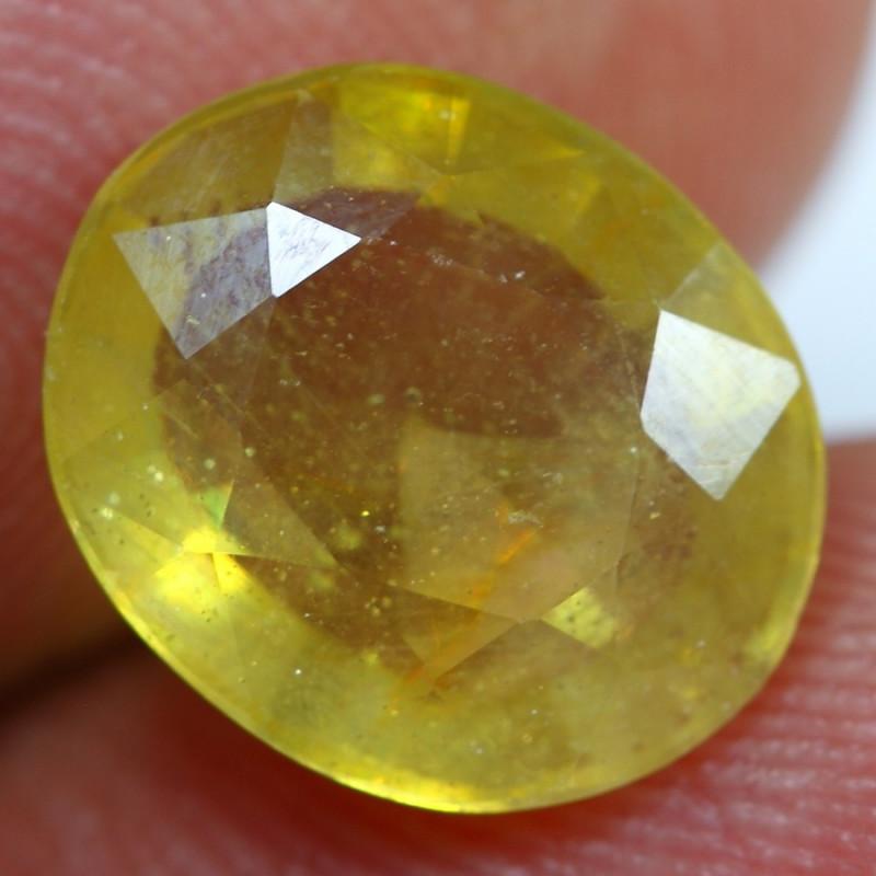 4.55cts Exquisite Honey Yellow Ruby Gemstone