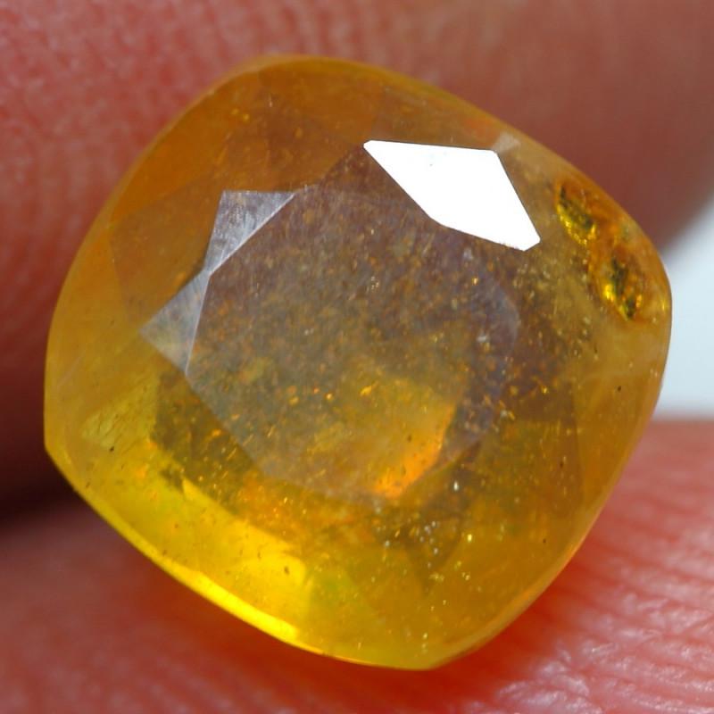 3.00cts Beautiful Golden Yellow Ruby Gemstone