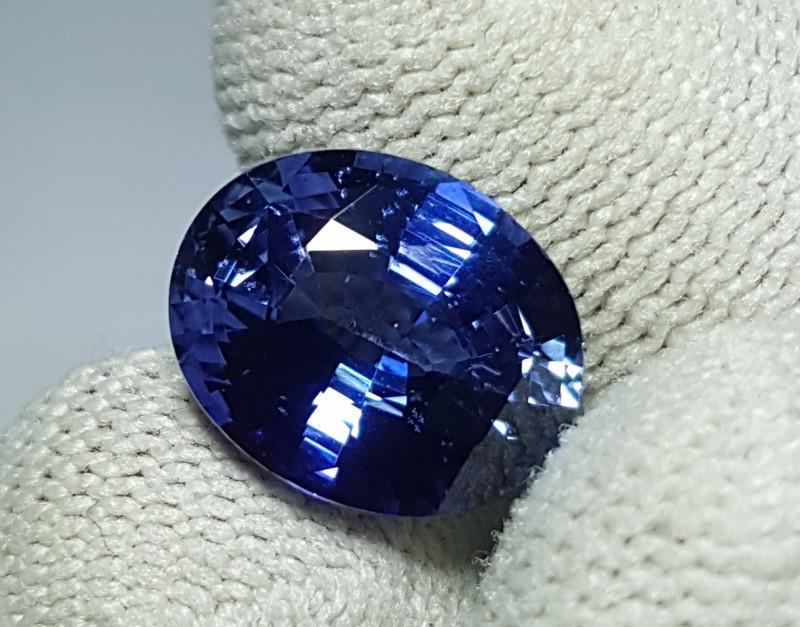 5.92 CTS NATURAL STUNNING OVAL MIX CORNFLOWER BLUE SAPPHIRE SRI LANKA