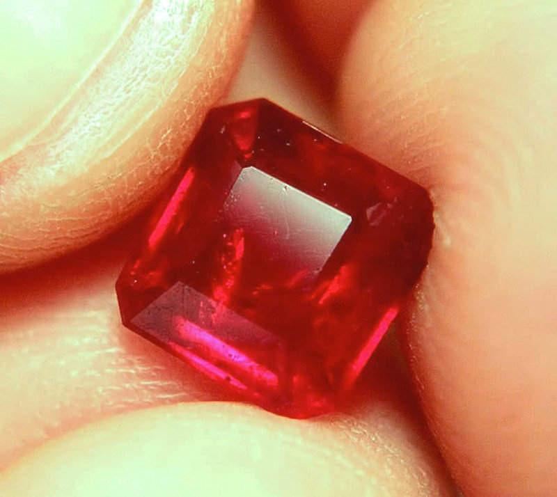 3.09 Carat Fiery Pigeon Blood Ruby - Superb
