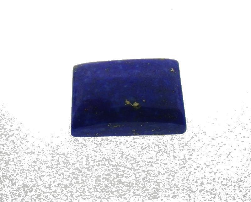 7.45 ct Rectangle/ Cushion Natural Fine Blue Lapis Lazuli Gemstone