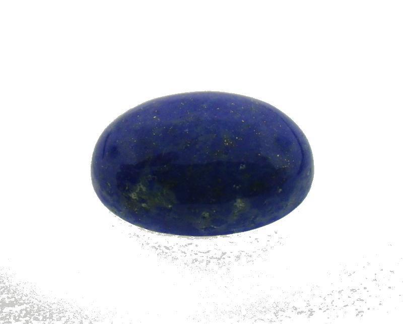 10.78 ct Oval Natural Fine Blue Lapis Lazuli Gemstone