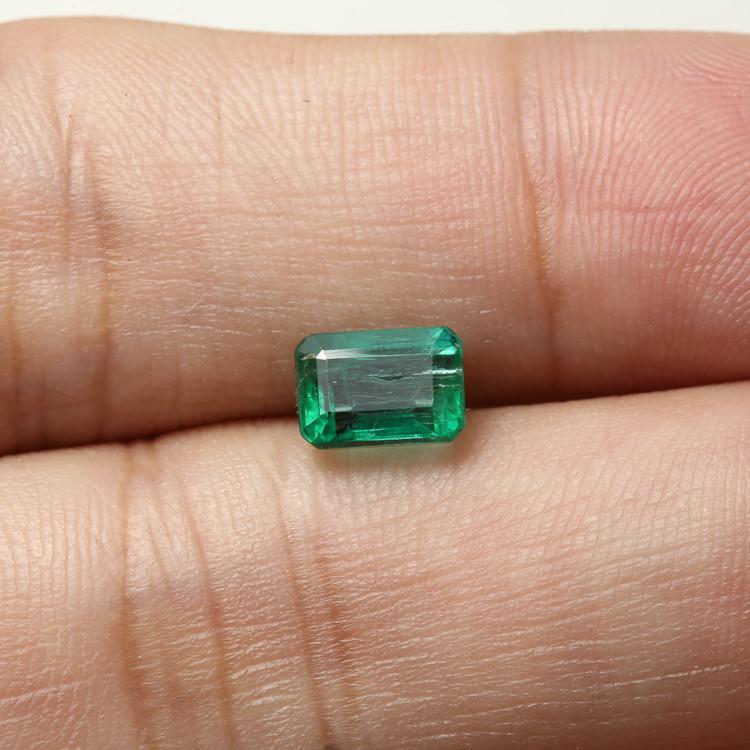 1.46ct Lab Certified Zambian Emerald