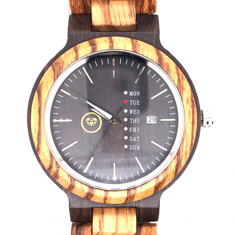 Treasures Eco Friendly Bamboo watch WO 100
